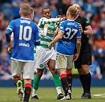 01.09.2019 Rangers v Celtic: Olivier Ntcham and Scott Arfield