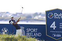 Hideto Tanihara (JPN) tees off the 4th tee during Thursday's Round 1 of the Dubai Duty Free Irish Open 2019, held at Lahinch Golf Club, Lahinch, Ireland. 4th July 2019.<br /> Picture: Eoin Clarke | Golffile<br /> <br /> <br /> All photos usage must carry mandatory copyright credit (© Golffile | Eoin Clarke)