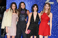 Matilda Lowther and Sam Rollinson<br /> at the fashionable screening of &quot;Zoolander No.2&quot;, Empire Leicester Square, London.<br /> <br /> <br /> &copy;Ash Knotek  D3079 04/02/2016