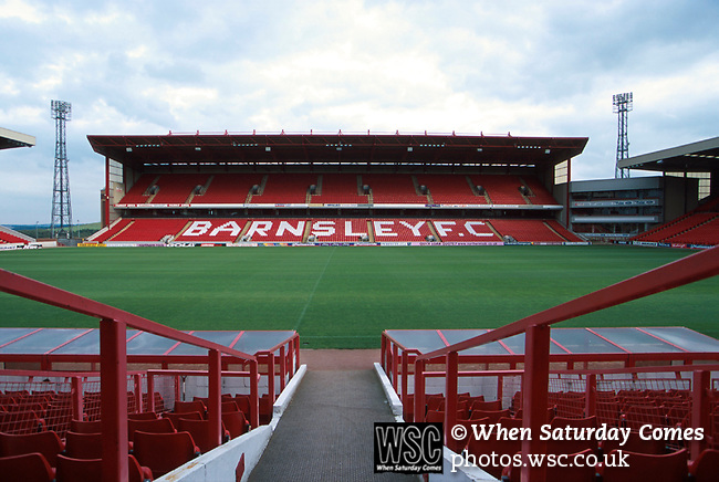 Oakwell, home of Barnsley FC. Photo by Tony Davis