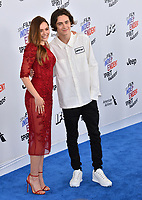 Elizabeth Olsen &amp; Timothee Chalamet at the 2018 Film Independent Spirit Awards on the beach in Santa Monica, USA 03 March 2018<br /> Picture: Paul Smith/Featureflash/SilverHub 0208 004 5359 sales@silverhubmedia.com