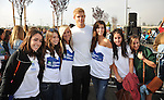 PACOIMA, CA. - October 10: Trevor Donovan and fans arrive at The 2009 American Dream Walk To Benefit Habitat For Humanity at Lowe's Home Improvement on October 10, 2009 in Pacoima, California.