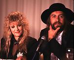 Fleetwood Mac 1987  Stevie Nicks & Mick Fleetwood..© Chris Walter..