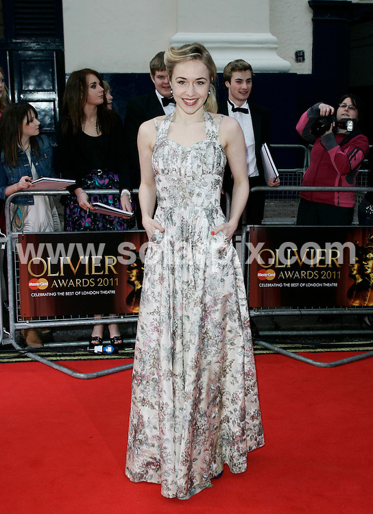 **ALL ROUND PICTURES FROM SOLARPIX.COM**                                             **WORLDWIDE SYNDICATION RIGHTS**                                                                                  Caption: arrivals at the Laurence Olivier Awards at the Theatre Royal Drury Lane, London, UK. Sunday 13 March 2010                              This pic: Sarah Goldberg                                                                    JOB REF: 12959 LNJ       DATE: 13_03_2011                                                           **MUST CREDIT SOLARPIX.COM OR DOUBLE FEE WILL BE CHARGED**                                                                      **MUST AGREE FEE BEFORE ONLINE USAGE**                               **CALL US ON: +34 952 811 768 or LOW RATE FROM UK 0844 617 7637**