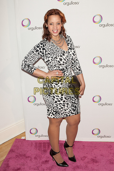 NEW YORK, NY -  FEBRUARY 26: Dascha Polanco attends the Nueva Latina campaign launch at Helen Mills Event Space on February 26, 2014 in New York City.  <br /> CAP/MPI/COR<br /> &copy;Corredor99/ MediaPunch/Capital Pictures