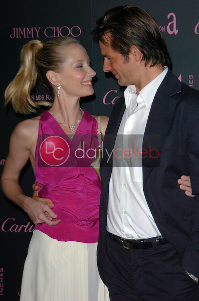 """Anne Heche and Coleman 'Coley' Laffoon<br /> at the """"Four Inches"""" A Benefit For The Elton John Aids Foundation, Mortons, Los Angeles, CA 06-21-05<br /> Chris Wolf/DailyCeleb.com 818-249-4998"""