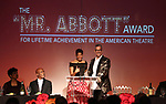 Phylicia Rashad, Kenny Leon, Lydia R. Diamond and Jerry Mitchell during the SDC Foundation presents The Mr. Abbott Award honoring Kenny Leon at ESPACE on March 27, 2017 in New York City.