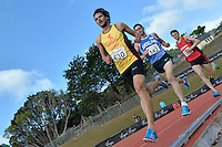 Hugo Beamish in action during the Athletics - NZ Track and Field Championships at Newtown Park, Newtown, New Zealand on Friday 6 March 2015. <br /> Photo by Masanori Udagawa. <br /> www.photowellington.photoshelter.com.