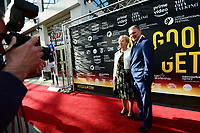 "Picture by Simon Wilkinson/SWpix.com - 30/04/2018 - Rugby League Leeds Rhinos Film "" As Good As It Gets ? "" Film Screening and Red Carpet Premiere, Everyman Cinema, Trinity, Leeds - Gary and Kath Hetherington"