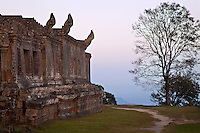 Preah Vihear temple is located in northern Cambodia near the border with Thailand and has been teh subject of recent border disputes