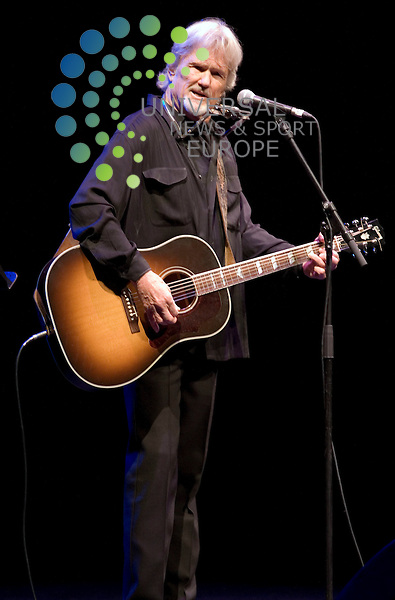 Kris Kristofferson playing at Royal Concert Hall, Glasgow on 2nd August 2010. .. .Pictures: Peter Kaminski/Universal News and Sport (Europe)2010