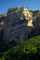 Kalambaka, Kastraki, Meteora, Greece, June 2006. Varlaam monastery. The Monastaries of Meteora can be found high on the steepest rocks, Photo by Frits Meyst/Adventure4ever.com
