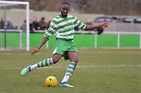 Germaine Dua Of Waltham Abbey during Waltham Abbey vs Bracknell Town, Bostik League South Central Division Football at Capershotts on 9th February 2019