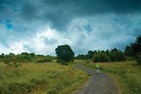 Walking through the Old Mine Nature Park, Bellshill, North Lanarkshire