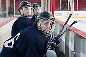 Tyler Kelleher (UNH - 16) - The University of New Hampshire Wildcats practiced at Fenway on Friday, January 13, 2017, in Boston, Massachusetts.