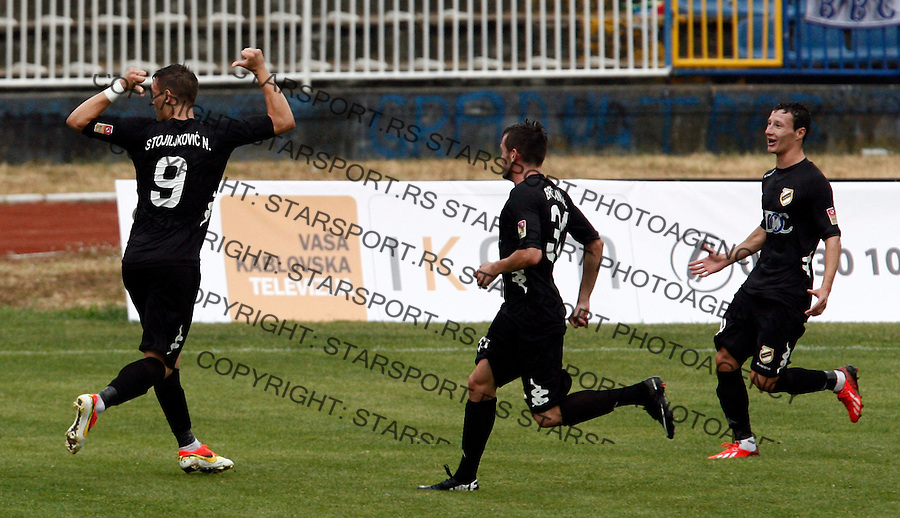 Nikola Stojiljkovic Jelen Superliga sezona 2013-2014 Ofk Beograd - Cukaricki, Serbia, 24.8.2013. (credit: Pedja Milosavljevic  / thepedja@gmail.com / +381641260959)