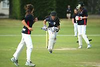Holy Cross Catholic School vs. Balmacewen Intermediate during the National Primary School Cricket Cup at the Bert Sutcliffe Oval, Lincoln University, Christchurch, New Zealand. Saturday 25 November 2017. Photo: Martin Hunter/www.bwmedia.co.nz