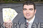 LOTTO: Fine Gael TD Brendan Griffin who has suggested a tax on Lotto winnings as a way of helping to generate money for the Exchequer.