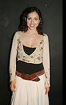"AMC's Eden Riegel ""Bianca Montgomery"" attends the play My Life As You, a new romantic comedy on September 15, 2006 at the Producers Club II, NYC. (Photos by Sue Coflin/Max Photo)"