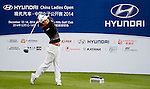 Hae Rym Kim of Korea in action during the Hyundai China Ladies Open 2014 on December 12 2014, in Shenzhen, China. Photo by Li Man Yuen / Power Sport Images