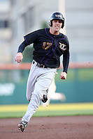 May 3, 2010:  First Baseman Danny Dorn (17) of the Louisville Bats runs the bases during a game vs. the Buffalo Bisons at Coca-Cola Field in Buffalo, NY.   Louisville defeated Buffalo by the score of 20-7.  Photo By Mike Janes/Four Seam Images