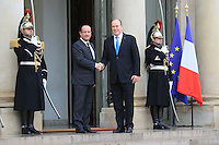 PAP1212PA344.ALBERT DE MONACO REND VISITE A FRANCOIS HOLLANDE A L'ELYSEE..ALBERT OF MONACO VISITS FRENCH PRESIDENT FRANCOIS HOLLANDEPAP1212PA344.ALBERT DE MONACO REND VISITE A FRANCOIS HOLLANDE A L'ELYSEE..ALBERT OF MONACO VISITS FRENCH PRESIDENT FRANCOIS HOLLANDE