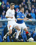 Northern Ireland team mates Steven Craigan and David Healy