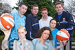 TIME FOR A GAME: Taking part in a sports programme were two student Gardai based in Tralee and members of the Transform Alley Youthreach Project in the KDYS on Tuesday afternoon. Front l-r were: Stephen Lynch, Amanda OBrien and Melissa ONeill. Back l-r were: Sean Roche, Student Garda Patrick Casey, John OBrien and Student Garda Anthony Moloney.