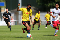 Alex Jakubiak of Watford in action during Woking vs Watford, Friendly Match Football at The Laithwaite Community Stadium on 8th July 2017