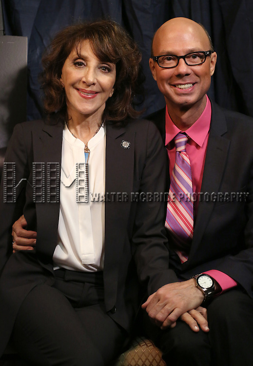 Andrea Martin & Richard Ridge  'In The Spotlight' at the 2013 Tony Awards Meet The Nominees Junket  at the Millennium Broadway Hotel in New York on 5/1/2013...