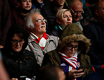 Sheffield Utd fan during the Championship match at the City Ground Stadium, Nottingham. Picture date 30th September 2017. Picture credit should read: Simon Bellis/Sportimage