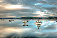 Turning of the tide, Cundy's Harbor Maine.