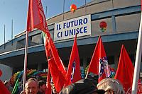 manifestazione Prodi 2004 palalido