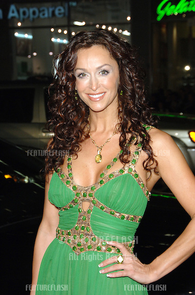 "SOFIA MILOS at the Los Angeles premiere of ""Blood Diamond"" at Grauman's Chinese Theatre, Hollywood..December 6, 2006  Los Angeles, CA.Picture: Paul Smith / Featureflash"