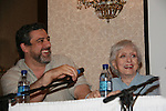 Celeste Holm - Loving and husband Frank Basile at 4th Annual Mid-Atlantic Nostalgia Convention in Aberdeen, Maryland. (Photo by Sue Coflin/Max Photos)