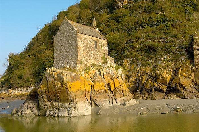 Saint Aubert's Chapel - Mont Saint-Michel - Brittany - France