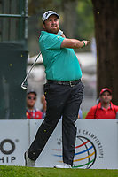Shane Lowry (IRL) watches his tee shot on 7 during round 3 of the World Golf Championships, Mexico, Club De Golf Chapultepec, Mexico City, Mexico. 2/23/2019.<br /> Picture: Golffile | Ken Murray<br /> <br /> <br /> All photo usage must carry mandatory copyright credit (© Golffile | Ken Murray)