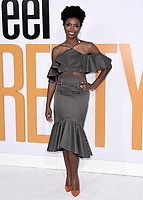 """WESTWOOD, CA - APRIL 17:  Sasheer Zamata at the world premiere of """"I Feel Pretty"""" at Westwood Village Theater on April 17, 2018 in Westwood, California. (Photo by Scott KirklandPictureGroup)"""