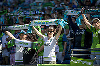 Seattle, Washington - Saturday, May 27, 2017: Seattle Sounders FC vs Portland Timbers. Final Score: Seattle Sounder FC 1, Portland Timbers 0