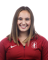 Stanford, CA - September 20, 2019: Chloe Widner, Athlete and Staff Headshots