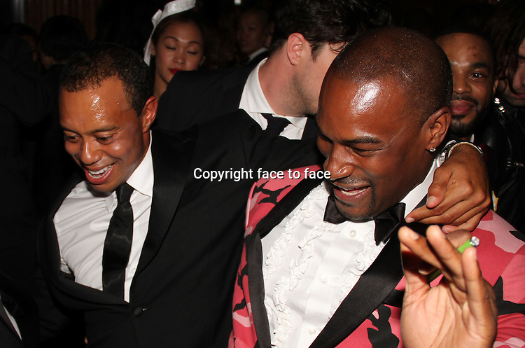 Tiger Woods & Tyson Beckford attending Met Gala after party at The Boom Boom Room at The Top of The Standard Hotel May 6, 2013 in New York City...Credit: MediaPunch/face to face..- Germany, Austria, Switzerland, Eastern Europe, Australia, UK, USA, Taiwan, Singapore, China, Malaysia, Thailand, Sweden, Estonia, Latvia and Lithuania rights only -