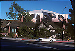 The old Charlie Chaplin studios during the A & M Records perod in late 1970's on La Brea in Hollywood