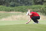 Evan Griffith (WALES) on the 3rd on the Final Day at the 2012 Boys Home Internationals at Co.Louth Golf Club in Baltray, Co.Louth...(Photo credit should read Jenny Matthews/NEWSFILE)...