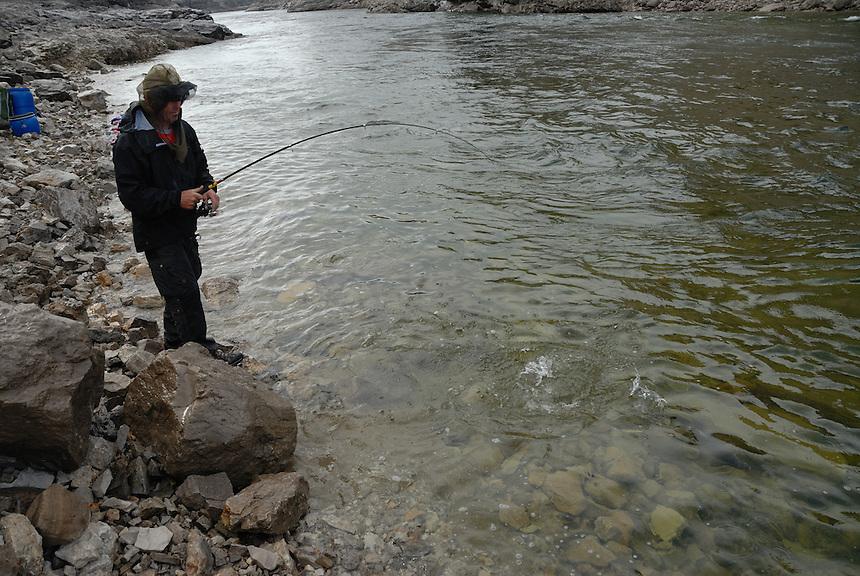 Horton river,NWT,Arctic Canada