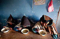 A picture dated September 12, 2011 shows a Chipaya family having quinoa soup in Oruro, Bolivia.  2013  was declared the international year of Quinoa by the UN.  Bolivia is the main producer of quinoa in the world.