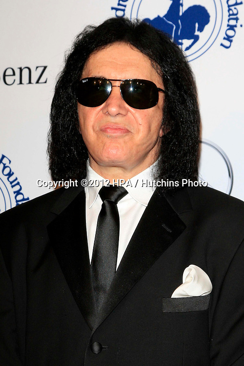 LOS ANGELES - OCT 20:  Gene Simmons arrives at  the 26th Carousel Of Hope Ball at Beverly Hilton Hotel on October 20, 2012 in Beverly Hills, CA