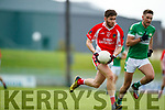 Eanna Ó Conchúir West Kerry in action against  Legion in the Quarter Final of the Kerry Senior County Championship at Austin Stack Park on Sunday.