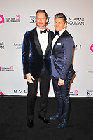NEW YOKR, NY - NOVEMBER 7: Neil Patrick Harris and David Burtka at The Elton John AIDS Foundation's Annual Fall Gala at the Cathedral of St. John the Divine on November 7, 2017 in New York City. <br /> CAP/MPI/JP<br /> &copy;JP/MPI/Capital Pictures