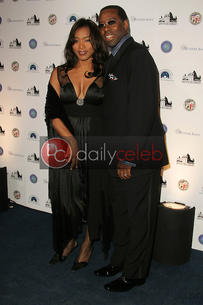 Angela Bassett and Courtney B. Vance<br />at the Griffith Observatory Re-Opening Galactic Gala. Griffith Observatory, Los Angeles, CA. 10-29-06<br />Dave Edwards/DailyCeleb.com 818-249-4998