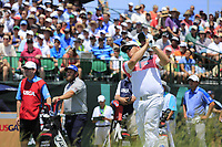 George Coetzee (RSA) tees off the 1st tee to start his match during Thursday's Round 1 of the 117th U.S. Open Championship 2017 held at Erin Hills, Erin, Wisconsin, USA. 15th June 2017.<br /> Picture: Eoin Clarke | Golffile<br /> <br /> <br /> All photos usage must carry mandatory copyright credit (&copy; Golffile | Eoin Clarke)